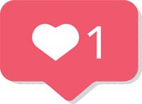 heart icon instagram